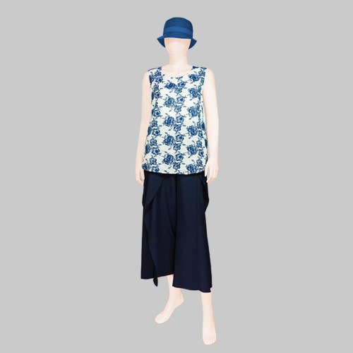 Cotton House AYA Blouse with Large Pants