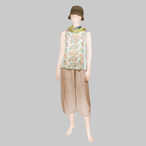 Cotton House AYA Tank Top with Linen Pants