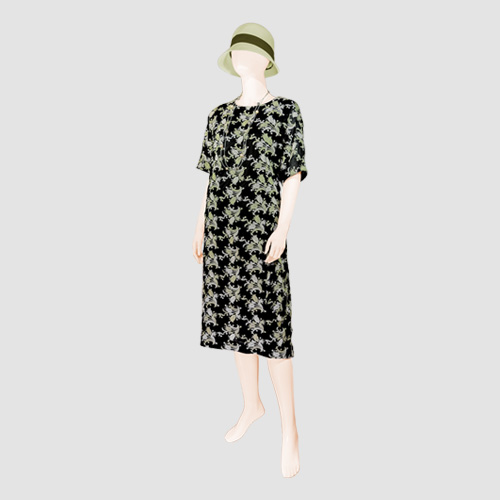 Embroidered Cotton AYA Dress