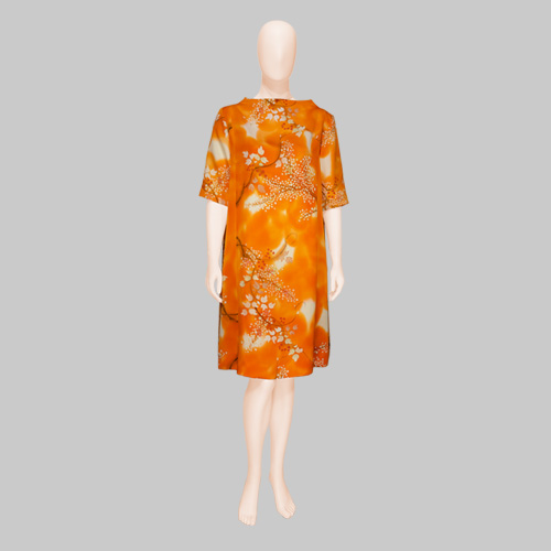 Kimono Silk Dress by Patch Magic