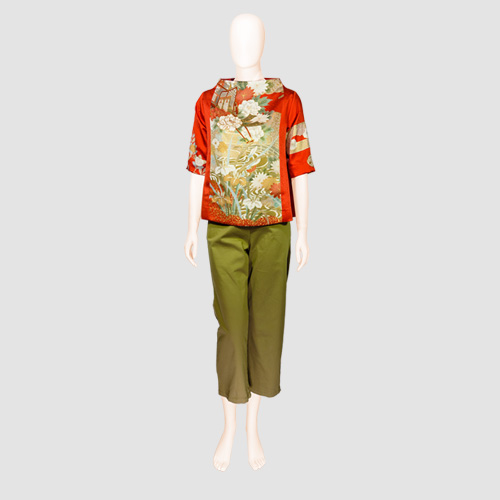 Kimono Silk Blouse by Patch Magic