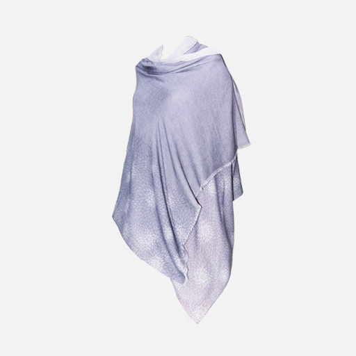 Hand dyed Silk Shawl by Hirose Dyeworks